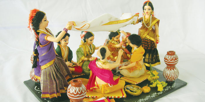 Indian Classical Dance Dolls